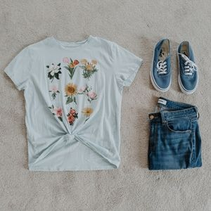 Fifth Sun - Floral Top